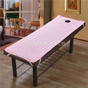 フェイスクレードルクッション枕パッドセット付きピンクマッサージベッドマットレスシート