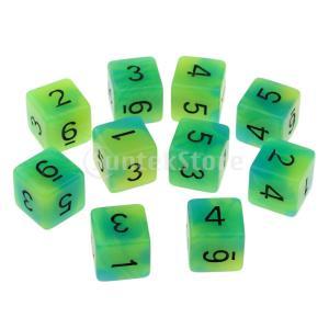 説明: 各サイコロはテーブルゲームの良いアクセサリーです。 これらの6面のサイコロは、各面に1〜6の...