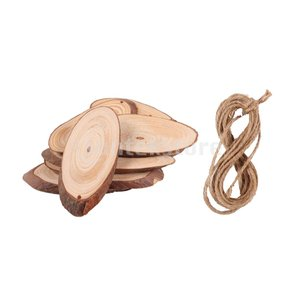 説明:  天然木のスライス木の樹皮スライス、本格的な木の丸太の外観、滑らかな表面は書くことやペイント...
