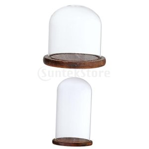 説明: 木製ベースの高品質クリアガラスドーム。それは素晴らしい熱安定性を持っています。温度は−20℃...