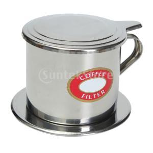 説明:ベトナムのコーヒーフィルター、コーヒーを醸造するための素晴らしい方法を締めます。 安価で、携帯...