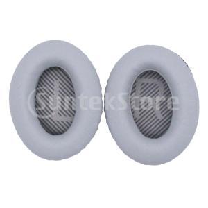 Quiet Comfort 35(QC35)ヘッドセットヘッドフォン用4ピースEarPadイヤークッ...