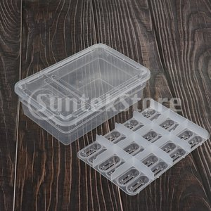 説明: プラスチック製の卵トレイ、それぞれに最大24個の卵を入れることができます。 透明度の高い、あ...