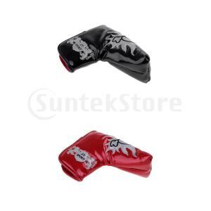 2ピース防水厚手ゴルフパタースリーブクラブヘッドカバープロテクターバッグ|stk-shop
