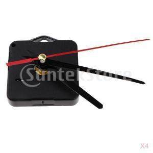ミドルシャフト スイープ 時計の動き 時計針セット ムーブメント ロング針 耐久性 丈夫 4個入り