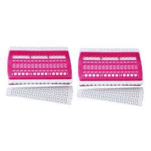 2ピース/個30ポジションフロスオーガナイザー刺繍ツールPU針ピンホルダー|stk-shop
