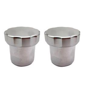 キャップ付きフィラーネックに2個/個の外径1.5インチアルミニウム合金溶接燃料油タンク|stk-shop
