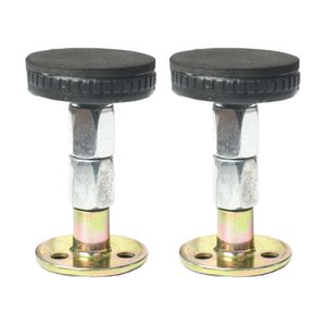 2x調整可能なねじ付きベッドフレームアンチシェイクツールテレスコピックサポート64-87mm|stk-shop