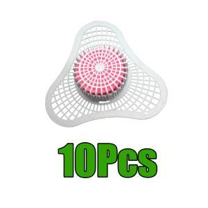 10x浴室の三角形のブロックの便器の防臭剤スクリーンの白はbaeriaを減らします|stk-shop