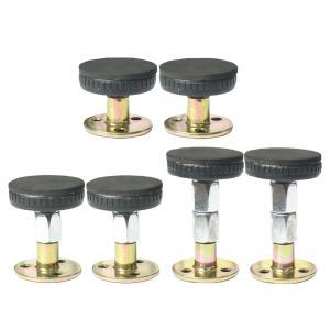 6ピース/個3サイズスレッドベッドフレーム揺れ防止ヘッド部屋の壁の伸縮サポート|stk-shop