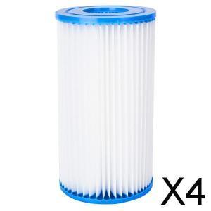 4xAbove地上プールポンプフィルター交換カートリッジ水洗浄|stk-shop
