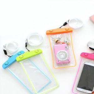 Lovoski 発光 100%防水防塵  ポーチ バッグ パックドライ 電話用ケース -  4色選べる - ピンク