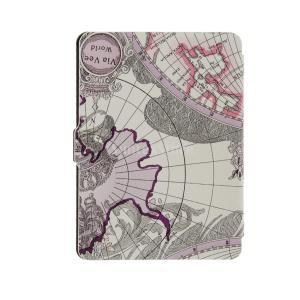 説明 :  完全キンドルpaperwhiteのための設計 世界地図のパターンPUレザーケース カット...