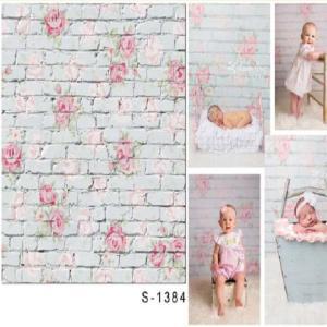 ノーブランド品 1.5m* 1m 花の壁 スタジオ 小道具 写真撮影 背景 背景スタンド