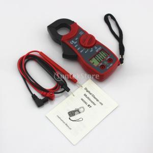 デジタルマルチメータの液晶クランプ交流直流電圧.電流アンプオームペンテスターの赤|stk-shop