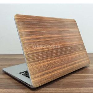 """説明:   13.3 \ """"のMacBook Airの互換性  ファッション木目高品質のハードコート..."""