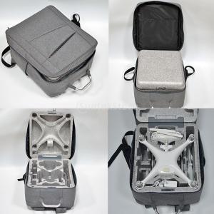 DJIファントム4灰色のための耐久性のあるショルダーキャリングケース、ストレージバックパックバッグ