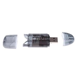 【ノーブランド 品】SD SDHC TFカード対応用 USB...