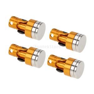 磁気ステルスボディポストは、1月10日、軸scx10電動RCカーの金のためにマウント