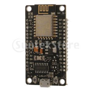 NodeMcu Lua ESP 8266 CH 340 G WIFIインターネット開発ボードモジュー...