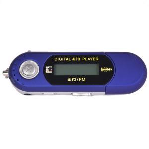 FMラジオのeBookブルーと8ギガバイトのUSBのMP4 MP3ミュージックビデオプレーヤーの記録