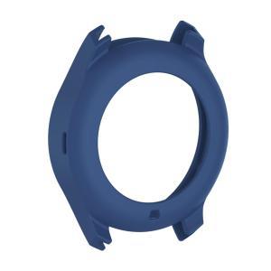 腕時計カバー ケース 保護 シリコン材 柔らかい Samsung Gear S3クラシックスマートウォッチ適用 全10色 - ブルー stk-shop