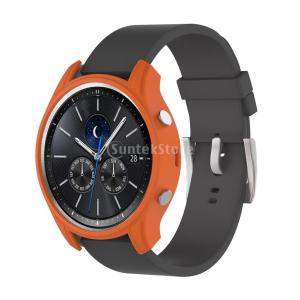 腕時計カバー ケース 保護 シリコン材 柔らかい Samsung Gear S3クラシックスマートウォッチ適用 全10色 - オレンジ stk-shop