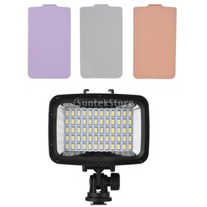 Perfk 防水 最大40m ダイビング  LED ビデオライト ランプ カメラ用