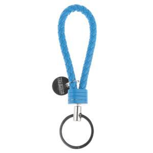 SONONIA 掛ける ストラップ ホルダー リング付き PUレザー 携帯電話/IDカード/車のキー用 全6色 - ブルー