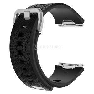IPOTCH Fitbit Ionicバンド 交換用バンド シリコン製 快適性 スマートウォッチバン...