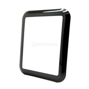 Fenteer 高品質 液晶保護フィルム 強化ガラス Apple Watch対応 9H硬度 3D曲面 高感度 38mm/42mm アンチスクラッチ - 42mm|stk-shop