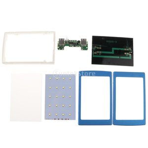 急速充電 DIY ソーラー充電器ケース パワーバンク シェル 全3色 2USBポート PCBAボード...