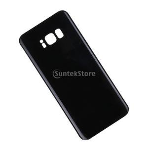 Fenteer Samsung Galaxy S8 Plusに対応 バックドア パネルカバー バッテ...