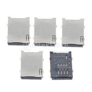 インターホン用5個のSIMカードリーダーホルダーソケットスロットコネクタ stk-shop