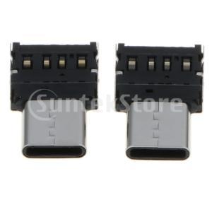 LG V20 G5 G6、および他のUSB-CタイプCデバイスと互換性のある2個のUSBタイプC-U...