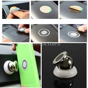 Lovoski iphone /サムスン/MP3/mp4対応 車載ホルダー 磁気 車のダッシュ マウント 携帯電話ホルダー 回転可能|stk-shop