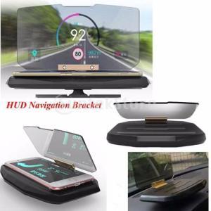 ノーブランド品 SUV GPS HUD 車載 安全運転 ヘッドアップ ディスプレイ プロジェクタ 携帯電話用 スマートフォン iPhone用 ブラケット stk-shop