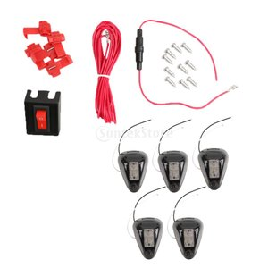 説明:  LEDタイプ:5-SMDアンバー/黄色LEDライト電圧とワット数:12V DC フィットメ...