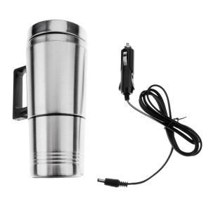 カー用 車載 マグカップ 電気カップ ウォーターボトル 沸騰水 ケーブル付き 12V 高品質  |stk-shop