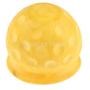 キャラバンのトレーラーの黄色のための普遍的な50mmの牽引のボールカバーの帽子の牽引のヒッチ