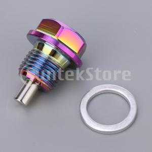 アルミ合金磁気エンジンオイルパンドレンボルトスクリューwガスケットM16×1.5