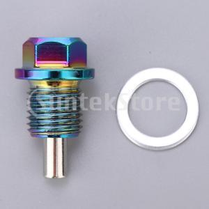 アルミ合金磁気エンジンオイルパンドレンボルトスクリューwガスケットM14x1.5