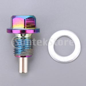 アルミ合金磁気エンジンオイルパンドレンボルトスクリューwガスケットM12×1.25