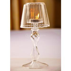 高品質 ファッション ガラス 燭台ホルダー キャンドル ホルダー|stk-shop