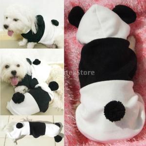 【ノーブランド 品】犬 ジャンプスーツ 冬 パーカー 子犬 猫 ジャンパー 暖かい 服 衣装 全5サイズ選べる - S stk-shop