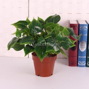 ノーブランド品 人工 5ブランチ 観葉植物 装飾 32cm stk-shop