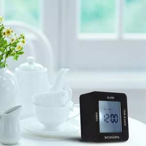 KOZEEY多機能 デジタル 両面回転 目覚まし時計 タイマー カレンダー 表示|stk-shop