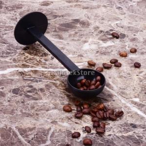 SONONIA 耐久性 2 イン1 コーヒー エスプレッソ スクープ 10g プラスチック 計量 スプーン タンパー 長さ150ミリメートル