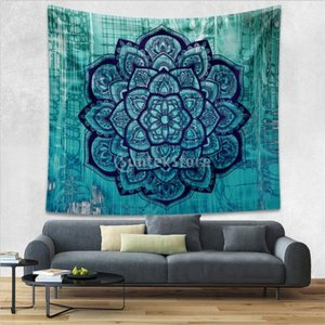 Lovoski 全9種類選ぶ ボヘミアン 壁 タペストリー ハンギング ベッドカバー 装飾 - パターン2|stk-shop