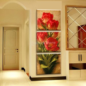 Dovewill 3枚セット キャンバス ウォールアートワーク 壁 絵画 プリント画像 装飾用 全3種類2サイズ - 様式3, 30 * 50センチメートル stk-shop
